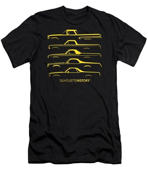 Pickupino Silhouettehistory Men's T-Shirt (Slim Fit) by Gabor Vida