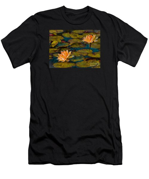 Picnic By The Pond Men's T-Shirt (Athletic Fit)