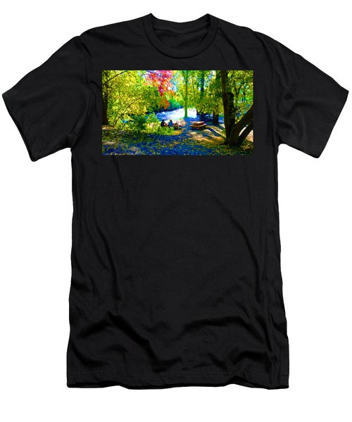 Picnic Men's T-Shirt (Athletic Fit)
