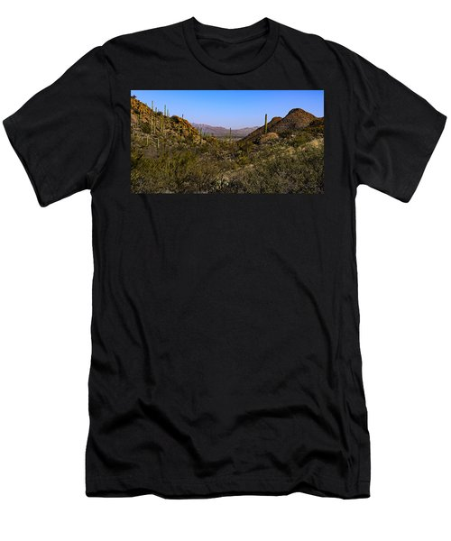 Picture Rocks 24 Men's T-Shirt (Athletic Fit)