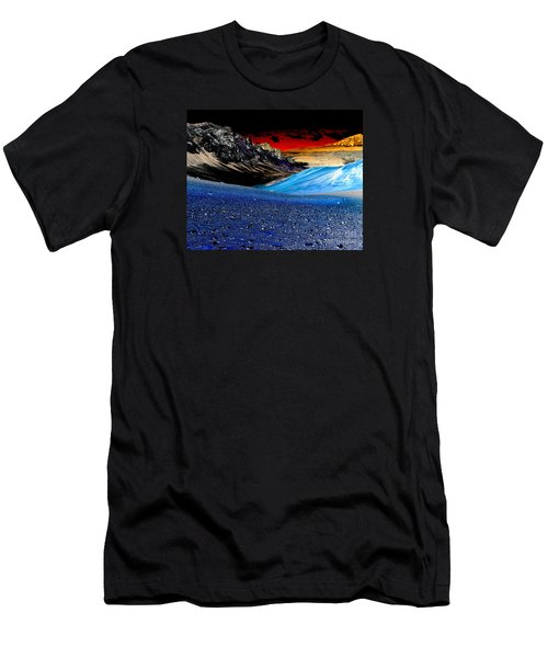 Pictures From Venus Men's T-Shirt (Slim Fit) by Rebecca Margraf