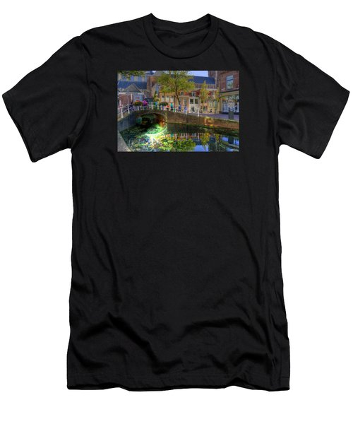 Picturesque Delft Men's T-Shirt (Slim Fit) by Uri Baruch