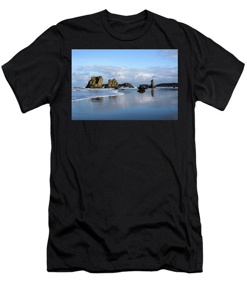Picturesque Rocks Men's T-Shirt (Athletic Fit)