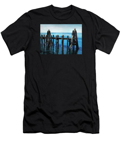 Pier Men's T-Shirt (Athletic Fit)