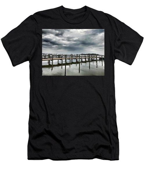 Pier Pressure Men's T-Shirt (Athletic Fit)