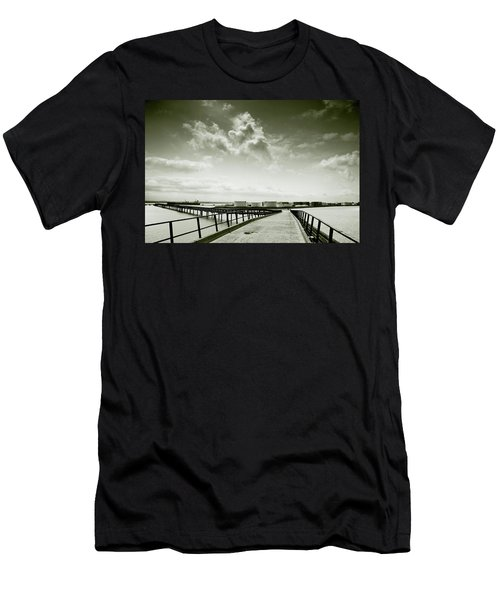Pier-shaped Men's T-Shirt (Athletic Fit)