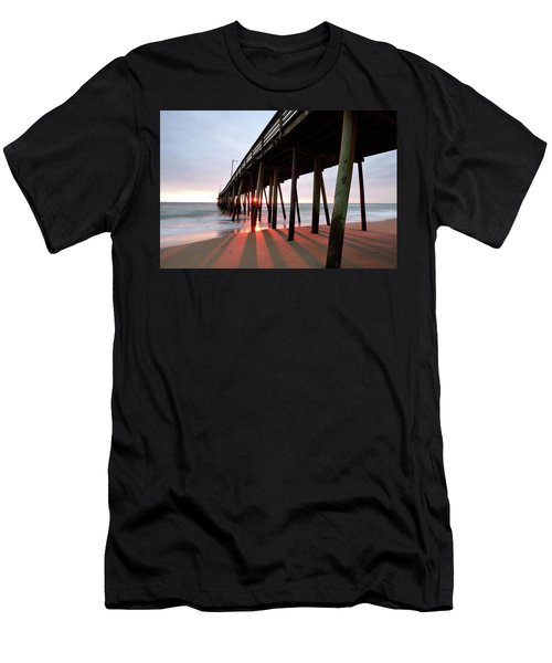 Pier Sunburst Men's T-Shirt (Athletic Fit)