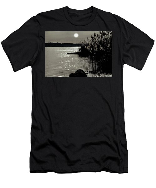Men's T-Shirt (Athletic Fit) featuring the photograph Piermont Hudson River View by Roger Bester