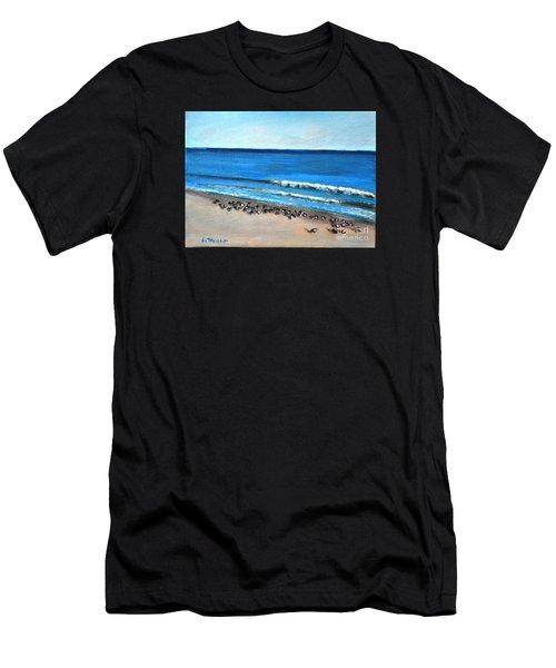 Pigeon Picnic Men's T-Shirt (Athletic Fit)
