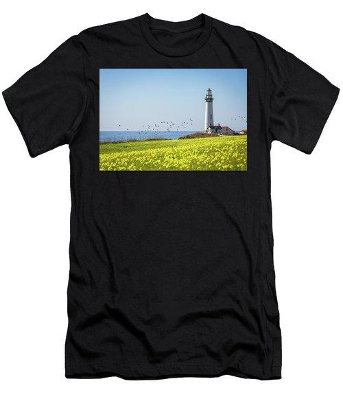 Pigeon Point Light Station Historic Park Men's T-Shirt (Athletic Fit)