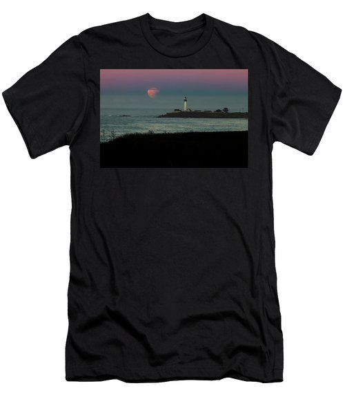 Pigeon Point Supermoonset Men's T-Shirt (Athletic Fit)