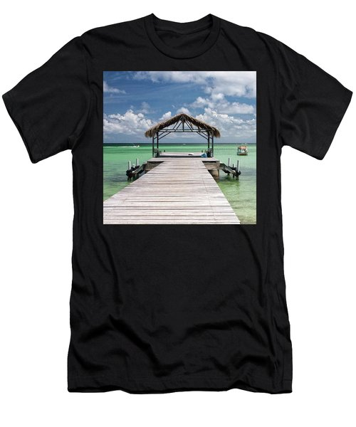 Pigeon Point, Tobago#pigeonpoint Men's T-Shirt (Athletic Fit)