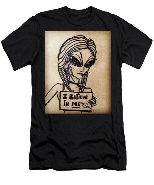 Pigtalien Girl Men's T-Shirt (Athletic Fit)