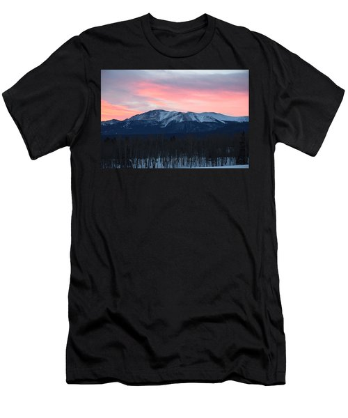 Sunrise Pikes Peak Co Men's T-Shirt (Athletic Fit)