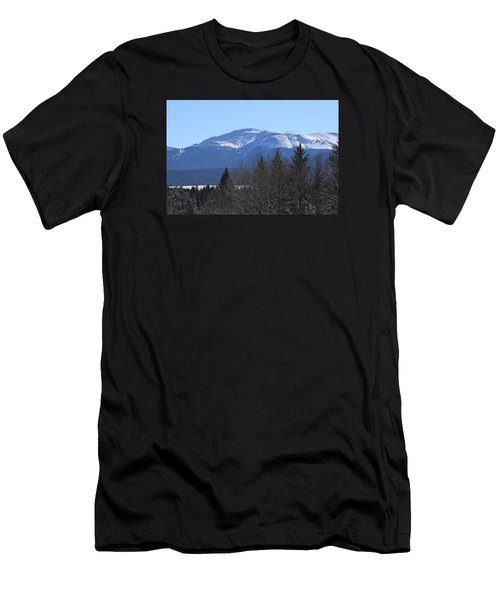 Men's T-Shirt (Athletic Fit) featuring the photograph Pikes Peak Cr 511 Divide Co by Margarethe Binkley