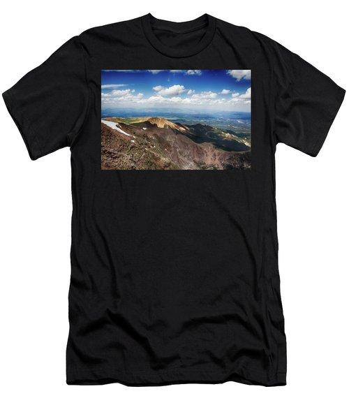 Pikes Peak Men's T-Shirt (Athletic Fit)