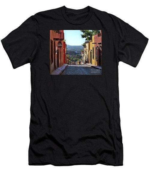 Men's T-Shirt (Slim Fit) featuring the photograph Pila Seca by John  Kolenberg