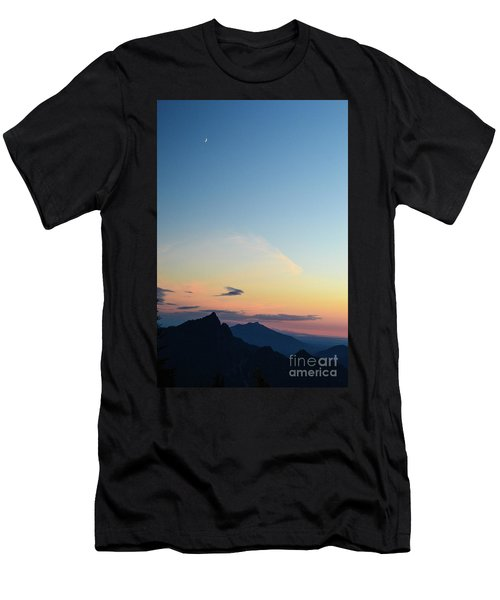 Pilchuck Sunset Men's T-Shirt (Athletic Fit)