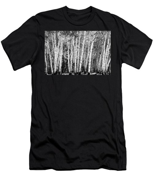 Pillars Of The Wilderness Men's T-Shirt (Athletic Fit)