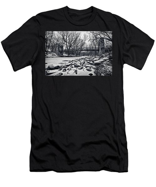 Pillars On The Shore Men's T-Shirt (Athletic Fit)