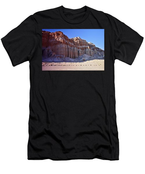 Pillars, Red Rock Canyon State Park Men's T-Shirt (Athletic Fit)