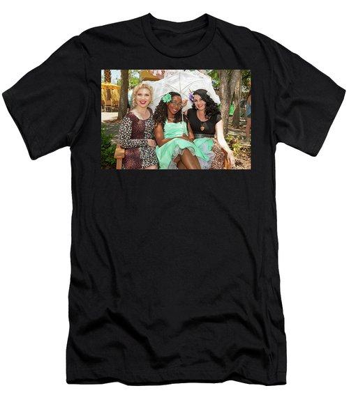 Pin-ups At The Zoo Men's T-Shirt (Athletic Fit)