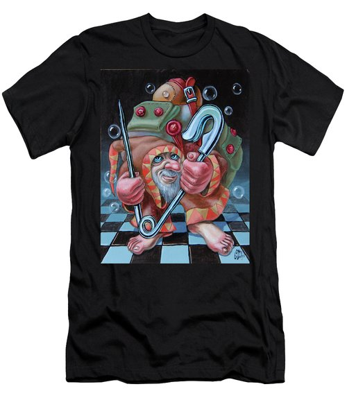Pin Men's T-Shirt (Athletic Fit)