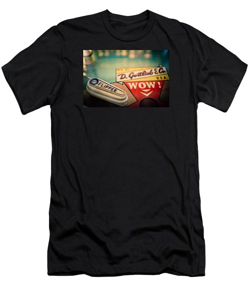 Pinball - Wow Men's T-Shirt (Athletic Fit)