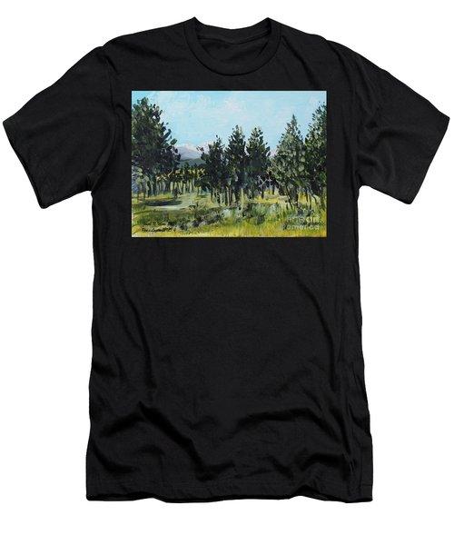 Pine Landscape No. 4 Men's T-Shirt (Athletic Fit)