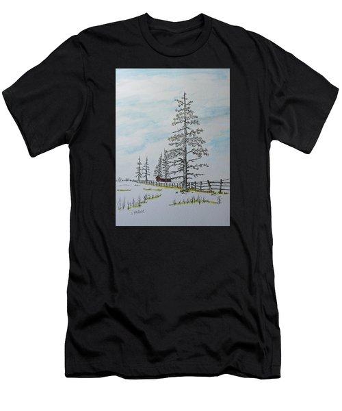 Pine Tree Gate Men's T-Shirt (Athletic Fit)
