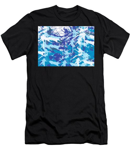Pine Trees Men's T-Shirt (Athletic Fit)