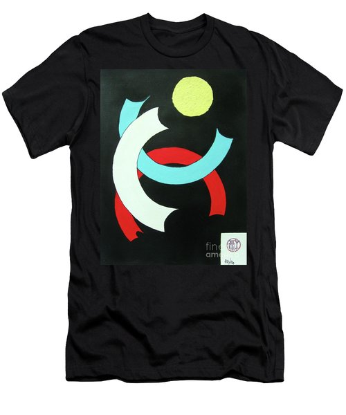 Pineapple Moon Men's T-Shirt (Slim Fit) by Roberto Prusso