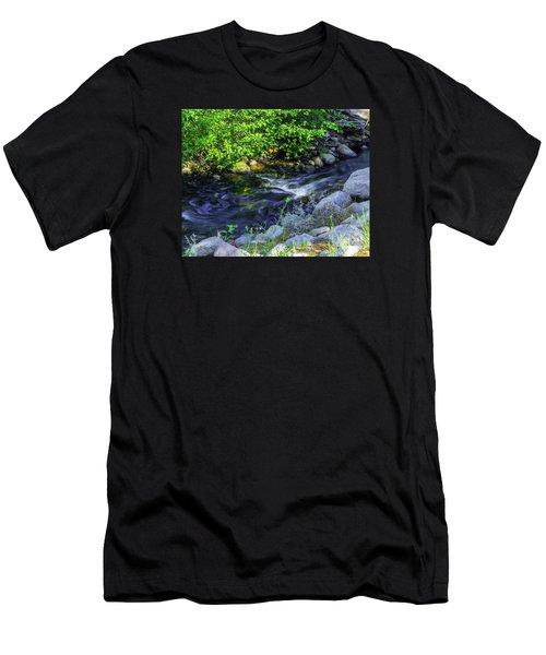 Pinecones Sage And Slow Moving Water Men's T-Shirt (Athletic Fit)