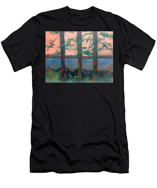 Pines At Dusk Men's T-Shirt (Athletic Fit)