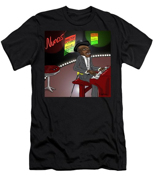 Pinetop Perkins Men's T-Shirt (Athletic Fit)