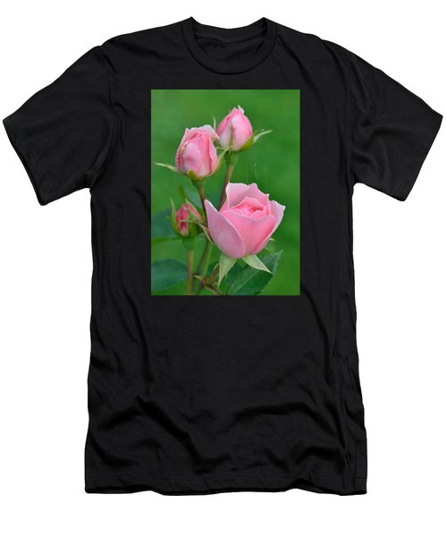 Pink And The Buds Men's T-Shirt (Athletic Fit)