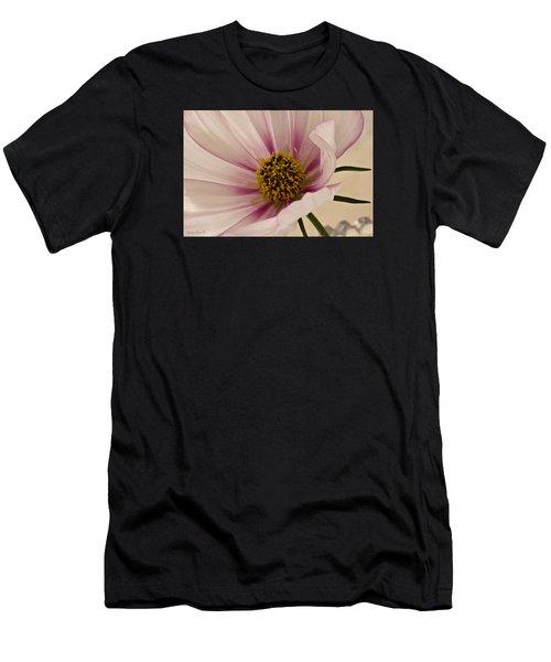 Pink Bi Color Cosmo Macro Men's T-Shirt (Athletic Fit)