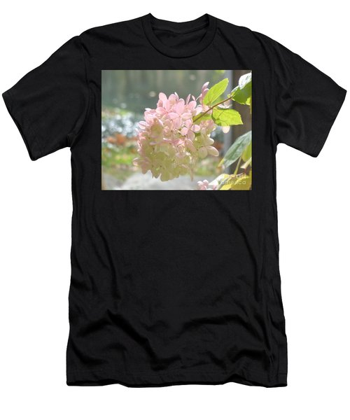 Pink Bloom In Sun Men's T-Shirt (Athletic Fit)