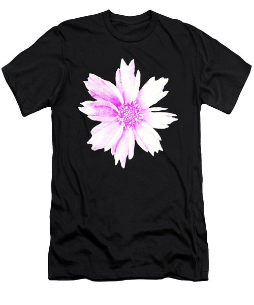 Pink Bloom Men's T-Shirt (Athletic Fit)