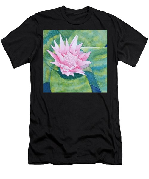 Pink Bromiliad Men's T-Shirt (Athletic Fit)