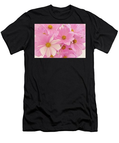 Pink Cosmos Sonata  Men's T-Shirt (Athletic Fit)