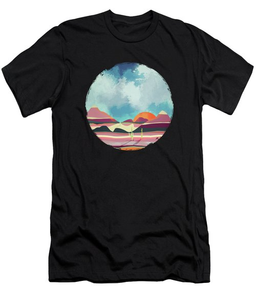 Pink Desert Glow Men's T-Shirt (Athletic Fit)