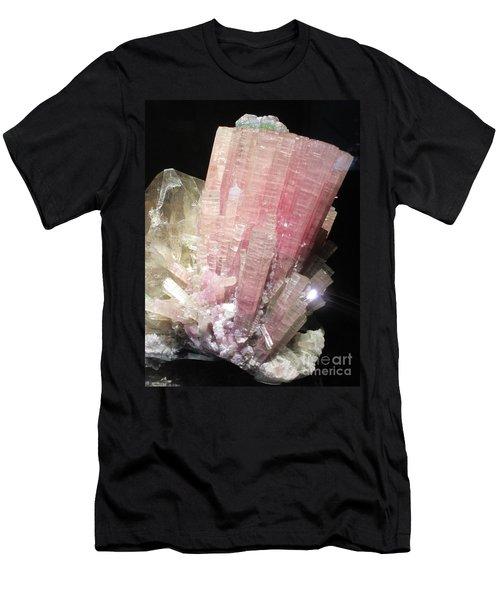 Pink Gemstone Men's T-Shirt (Athletic Fit)