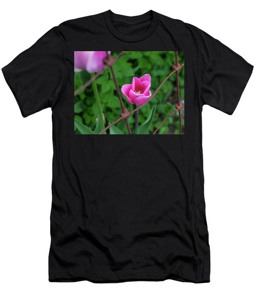 Pink In Stratford Men's T-Shirt (Athletic Fit)