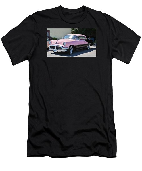 Men's T-Shirt (Slim Fit) featuring the photograph Pink Is A Color by Al Fritz