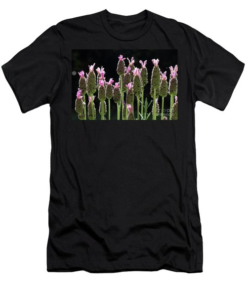 Pink Lavender Men's T-Shirt (Athletic Fit)