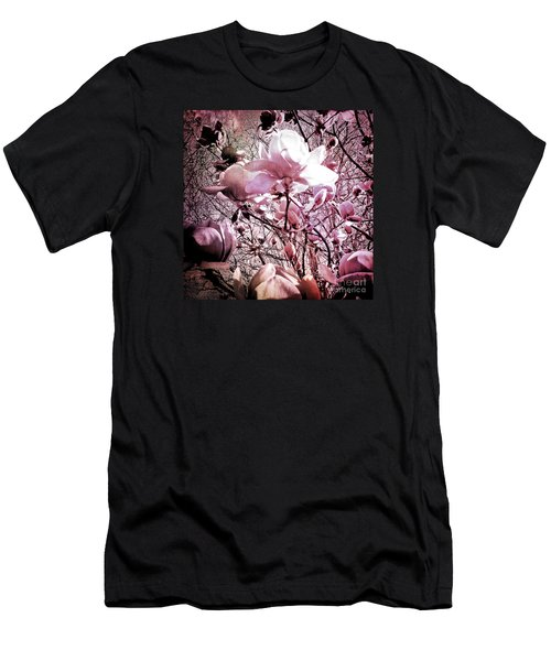 Pink Magnolias Men's T-Shirt (Athletic Fit)
