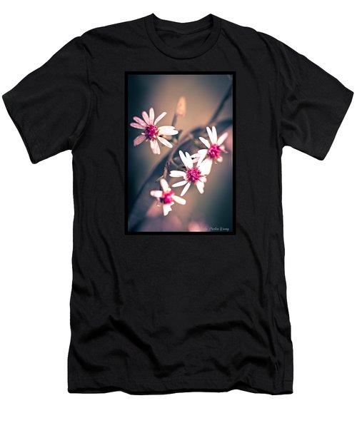 Pink Men's T-Shirt (Slim Fit) by Michaela Preston