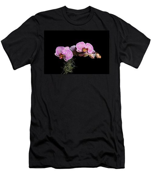 Pink Orchids Men's T-Shirt (Athletic Fit)