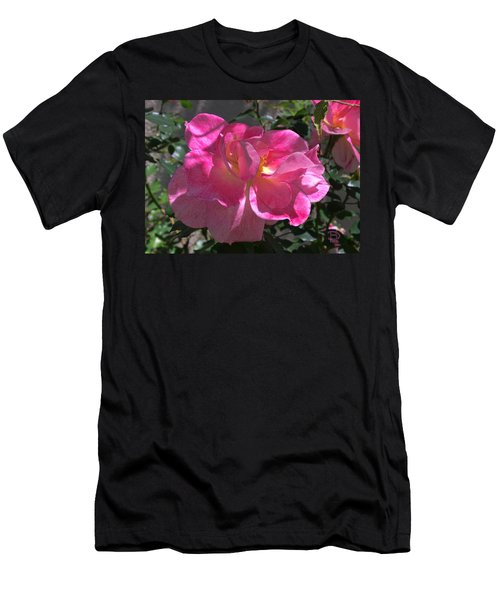 Men's T-Shirt (Slim Fit) featuring the photograph Pink Passion by Daniel Hebard